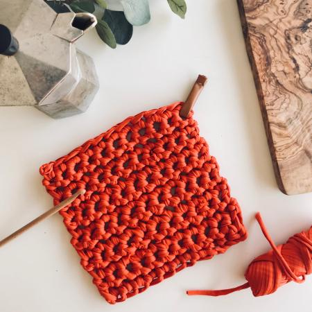 ATELIER INITIATION AU CROCHET - MANIQUE / DESSOUS DE PLAT